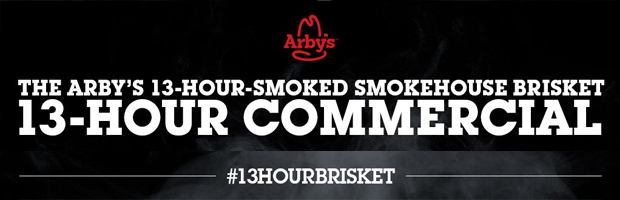 Arby's Advert Banner