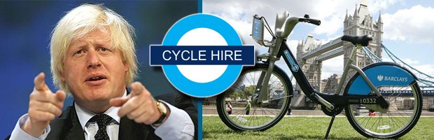 Cycle Hire Scheme Banner