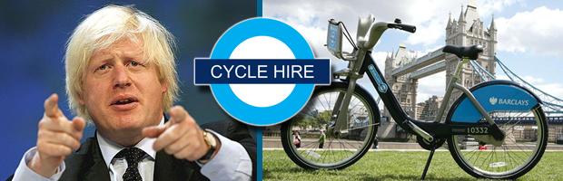 Cycle Hire Scheme Banner