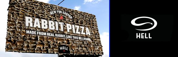 Hell Pizza Billboard 2