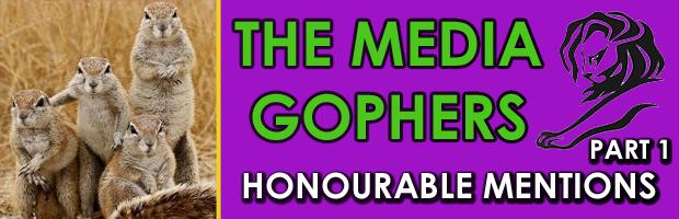 Honourable Mentions Part 1