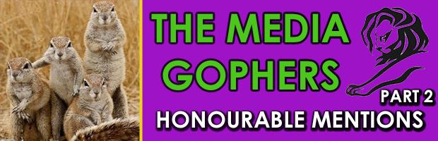 Honourable Mentions Part 2