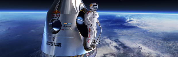 Red Bull Stratos Banner