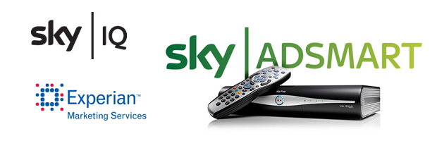 Sky IQ and Experian Banner