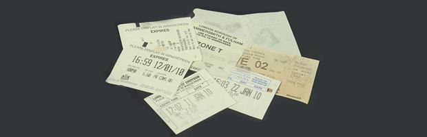 Car Park Tickets