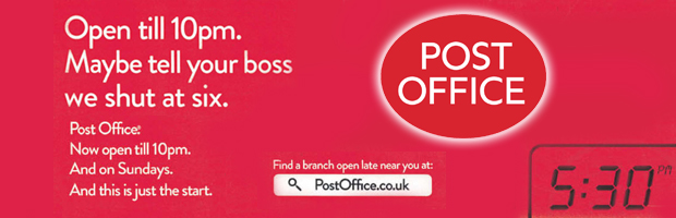 Post Office Banner