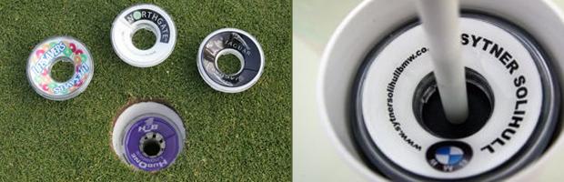 Golf Hole Ad
