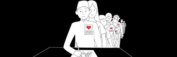 Organ Donation Radio Ad Banner