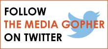 Follow The Media Gopher on Twitter