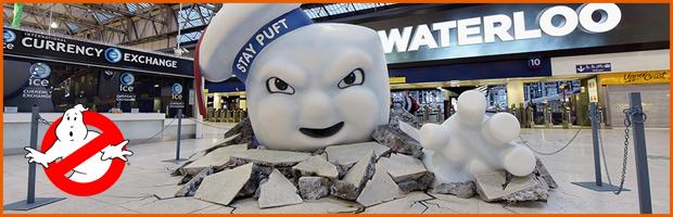 Ghostbuster OOH Waterloo