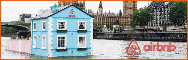 Airbnb Thames Floating House