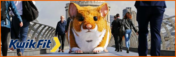 Kwik Fit Hamster OOH